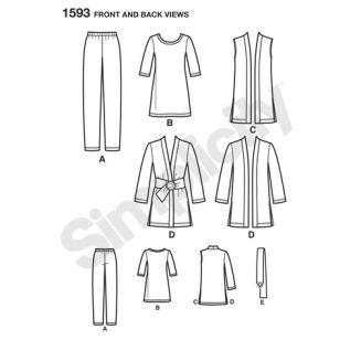 simplicity-sportswear-pattern-1593-front-back-view