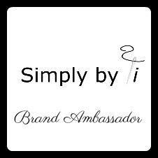 Simply by Ti brand ambassador graphic